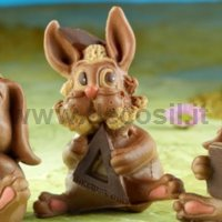 Lapin moule Gianduiotto
